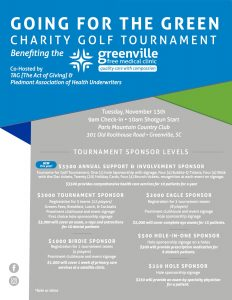 Greenville Charity Golf Tournament @ Paris Mountain Country Club | Greenville | South Carolina | United States